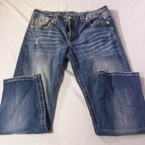 Miss Me Jeans Studded Size 29